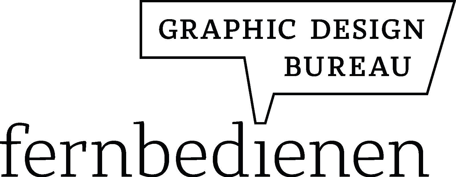 fernbedienen . graphic design bureau